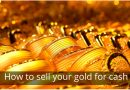 How to sell your gold for cash?